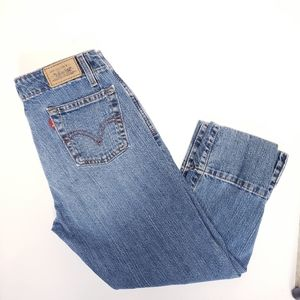 Levi's vintage 515 capri with wide cuff 4